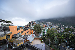 02.08.2016, Favela Rocinha, Rio de Janeiro, BRA, Rio 2016, Olympische Sommerspiele, Vorberichte, im Bild Übersicht // overview during preparation for the Rio 2016 Olympic Summer Games at the Favela Rocinha in Rio de Janeiro, Brazil on 2016/08/02. EXPA Pictures © 2016, PhotoCredit: EXPA/ Johann Groder
