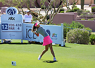 21 MAR15 Michelle Wie during Saturday's delayed Third Round of the JTBC Founder's Cup at The Wildfire Golf Club in Scottsdale, Arizona. (photo credit : kenneth e. dennis/kendennisphoto.com)