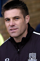 Photo: Olly Greenwood.<br />Southend United v Preston North End. Coca Cola Championship. 11/11/2006. Southend manager Steve Tilson