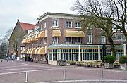 Nederland, Wageningen, 13-3-2016 Hotel de Wereld, een nationaal bekende plek. Hier werd in mei 1945 de overgave in nederland van de duitsers getekend. De Canadese Generaal Foulkes en prins Bernhard waren er ook. Foto: Flip Franssen