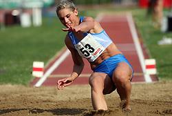 Snezana Rodic at Athletic National Championship of Slovenia, on July 20, 2008, in Stadium Poljane, Maribor, Slovenia. (Photo by Vid Ponikvar / Sportal Images).