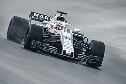 March 1, 2018 - Barcelona, Catalonia, Spain - SERGEY SIROTKIN (RUS) drives in his Williams FW41 during day four of Formula One testing at Circuit de Catalunya (Credit Image: © Matthias Oesterle via ZUMA Wire)
