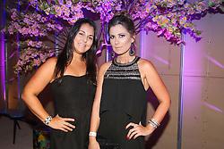 Caroline Giraldi e Cristina Fernandes na festa de inauguração do Viva Open Mall. FOTO: Dani Barcellos/ Agência Preview