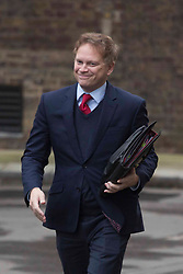 © Licensed to London News Pictures.08/12/2020. London, UK. Secretary of State for Transport Grant Shapps arrives at Downing Street. Prime Minister Boris Johnson witnessed coronavirus vaccinations being given this morning as the biggest immunisation campaign in U.K. history begins. Photo credit: Marcin Nowak/LNP