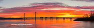 63895-15520 Clark Bridge at sunrise Alton IL