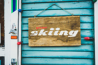 The Guide Garage in Ouray, Colorado is open in the morning, closed midday, then open again in the afternoon, making it the perfect place to start and finish your backcountry ski day in the San Juan Mountains.