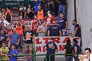DESCRIZIONE : Campionato 2014/15 Dinamo Banco di Sardegna Sassari - Olimpia EA7 Emporio Armani Milano Playoff Semifinale Gara6<br /> GIOCATORE : Ultras Milano<br /> CATEGORIA : Ultras Tifosi Spettatori Pubblico<br /> SQUADRA : Olimpia EA7 Emporio Armani Milano<br /> EVENTO : LegaBasket Serie A Beko 2014/2015 Playoff Semifinale Gara6<br /> GARA : Dinamo Banco di Sardegna Sassari - Olimpia EA7 Emporio Armani Milano Gara6<br /> DATA : 08/06/2015<br /> SPORT : Pallacanestro <br /> AUTORE : Agenzia Ciamillo-Castoria/L.Canu