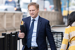 © Licensed to London News Pictures. 03/10/2019. London, UK. Secretary of State for Transport  Grant Shapps arrives at Downing Street . Later today Boris Johnson will make a statement in the House of Commons.  Photo credit: George Cracknell Wright/LNP