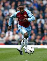 Fotball<br /> Premier League England 2003/2004<br /> Foto: Digitalsport<br /> <br /> DARIUS VASSELL<br /> ASTON VILLA 2003/2004<br /> BIRMIGHAM CITY V ASTON VILLA (0-0) <br /> PREMIER LEAGUE 19/10/03<br /> PHOTO ROBIN PARKER