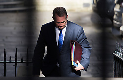 Downing Street, London, April 25th 2017. International Trade Secretary Liam Fox attends the weekly cabinet meeting at 10 Downing Street in London. Credit: ©Paul Davey
