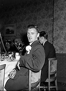 1/6/1954<br /> 6/1/1954<br /> 1 June 1954<br /> <br /> Photos of the O'Neill McShane Wedding at the Corpus Christi Church and the Four Courts Hotel