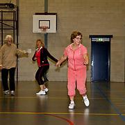 NLD/Huizen/20100324 - 50 Plusser's sporten bij Turnlust in de Baat Huizen