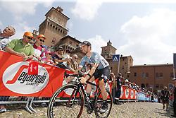 May 18, 2018 - Nervesa Della Battaglia, ITALY - Belgian Victor Campenaerts of Lotto Soudal pictured at stage 13 of the 101st edition of the Giro D'Italia cycling tour, 180km from  Ferrara to Nervesa della Battaglia, Italy, Friday 18 May 2018...BELGA PHOTO YUZURU SUNADA FRANCE OUT (Credit Image: © Yuzuru Sunada/Belga via ZUMA Press)