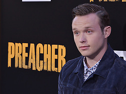 """Actor Ian Colletti arrives at AMC's """"Preacher"""" Season 2 Premiere Screening held at the Theater at the Ace Hotel in Los Angeles, CA on Tuesday, June 20, 2017.  (Photo By Sthanlee B. Mirador) *** Please Use Credit from Credit Field ***"""