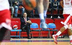 03.12.2015, KC Drazen Petrovic, Zagreb, CRO, FIBA, EL, KK Cedevita vs Anadolu Efes Istanbul, Gruppe B, 8. Runde, im Bild Veljko Mrsic // during the group B, 8th round match of the Turkish Airlines Basketball Euroleague between KK Cedevita and Anadolu Efes Istanbul at the KC Drazen Petrovic in Zagreb, Croatia on 2015/12/03. EXPA Pictures © 2015, PhotoCredit: EXPA/ Pixsell/ Slavko Midzor<br /> <br /> *****ATTENTION - for AUT, SLO, SUI, SWE, ITA, FRA only*****
