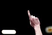 mani<br /> EA7 Emporio Armani Olimpia Milano - Betaland Orlandina Capo d Orlando<br /> LegaBasket Serie A 2017/2018<br /> Milano, 04/02/2018<br /> Foto M.Ceretti / Ciamillo - Castoria