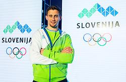Darko Cingesar during official presentation of the Designer wear for Slovenian Athletes at Rio Summer Olympic Games 2016, on April 15, 2016 in Hotel Lev, Ljubljana, Slovenia. Photo by Vid Ponikvar / Sportida