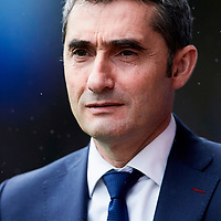 Eibar, Guipuzcoa ,Spain, 20/05/2019 . Ernesto Valverde during the LA LIGA SOCCER MATCH between S.D EIBAR VS F.C BARCELONA at Ipurua stadium.