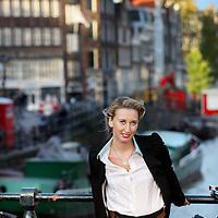 Nederland, Amsterdam , 23 oktober 2013.<br /> Sophie GAFFRE –- Marketing Manager Europe – C.H. Robinson - Amsterdam<br /> Foto:Jean-Pierre Jans