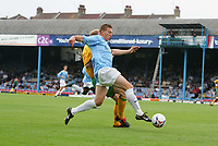 FREEDY EASTWOOD TAKES ON NORWICH DEFENCE.-FRIENDLY SOUTHEND V NORWICH-23 JULY 2005-PIC BY KIERAN GALVIN/ COLORSPORT