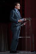 Uitreiking Prins Claus Prijs 2016 in het Koninklijk Paleis in Amsterdam.<br /> <br /> Op de foto:  prins Constantijn