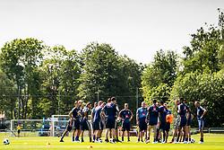 May 29, 2018 - BÃ¥Stad, Sverige - 180529 Förbundskapten Janne Andersson har genomgÃ¥ng under Sveriges fotbollslandslags träning den 29 maj 2018 i BÃ¥stad  (Credit Image: © Petter Arvidson/Bildbyran via ZUMA Press)