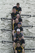 London, Great Britain, Crabtree BC. 2002 Head of the River Race Championship Course Chiswick [Mortlake] to Putney. River Thames. Saturday, [Mandatory Credit. Peter SPURRIER/Intersport Images. 20020323. Head of the River Race, London. UK.
