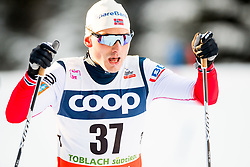 December 16, 2017 - Toblach, ITALY - 171216 Finn Haagen Krogh of Norway competes in men's 15km interval start free technique during FIS Cross-Country World Cup on December 16, 2017 in Toblach..Photo: Jon Olav Nesvold / BILDBYRN / kod JE / 160104 (Credit Image: © Jon Olav Nesvold/Bildbyran via ZUMA Wire)