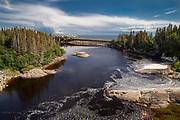 Rivière-au-Tonnerre is a municipality in Quebec located in the MRC de Minganie on the Côte-Nord. Two villages are part of this municipality, the village of Sheldrake and that of Rivière-au-Tonnerre.<br /> Rivière-au-Tonnerre est une municipalité du Québec située dans la MRC de Minganie sur la Côte-Nord. Deux villages font partie de cette municipalité, le village de Sheldrake et celui de Rivière-au-Tonnerre.