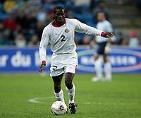 Fotball<br /> Treningskamp / Friendly match<br /> Norge v Costa Rica / Norway v Costa Rica 1-0<br /> 24.05.2005<br /> Foto: Morten Olsen, Digitalsport<br /> <br /> Jervis Drummond - Saprissa