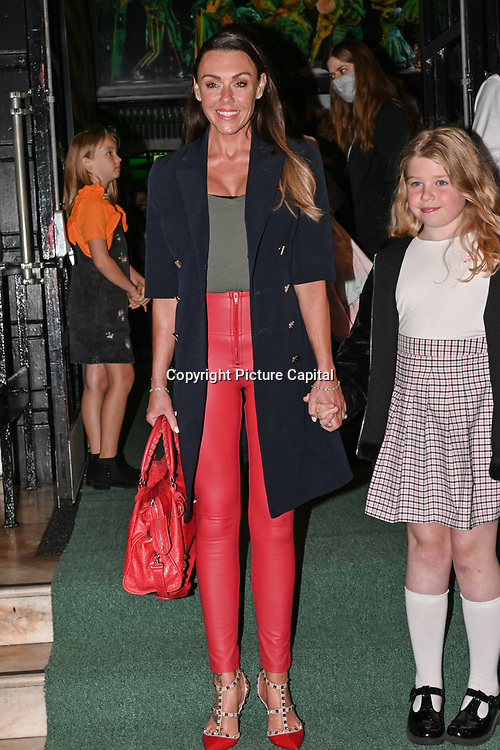 Michelle Heaton attended, A Gala Performance of Wicked. In celebration of its 15th Anniversary in London at Apollo Victoria Theatre, London, UK. on 28th September 2021.