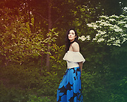 Laney Lynx in Prospect Park, promo shots for her new EP Getaway