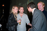 ALEXANDRA WEAVER; TYRONE WOOD, (  GALLERIST SON OF RONNIE WOOD. )The launch of the Peroni Nastro Azzurro Accademia del Film Wrap Party Tour. Brick Lane. 25 August 2010. -DO NOT ARCHIVE-© Copyright Photograph by Dafydd Jones. 248 Clapham Rd. London SW9 0PZ. Tel 0207 820 0771. www.dafjones.com.