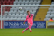 Forest Green Rovers Goalkeeper Bradley Collins(1) during the EFL Sky Bet League 2 match between Stevenage and Forest Green Rovers at the Lamex Stadium, Stevenage, England on 21 October 2017. Photo by Adam Rivers.