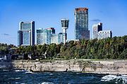 City skyline, Niagara Falls, Ontario, Canada