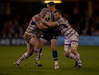 Bath Rugby's Jack Wilson in action during todays match<br /> <br /> Photographer Bob Bradford/CameraSport<br /> <br /> Gallagher Premiership Round 11 - Bath Rugby v Leicester Tigers - Sunday 30th December 2018 - The Recreation Ground - Bath<br /> <br /> World Copyright © 2018 CameraSport. All rights reserved. 43 Linden Ave. Countesthorpe. Leicester. England. LE8 5PG - Tel: +44 (0) 116 277 4147 - admin@camerasport.com - www.camerasport.com