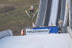 08.02.2020, Energie AG Skisprung Arena, Hinzenbach, AUT, FIS Weltcup Ski Sprung, Damen, im Bild Siegerin in Hinzenbach Chiara Hoelzl (AUT) im gelben Trikot der Weltcup Führenden // during her jump for the women's FIS Ski Jumping World Cup at the Energie AG Skisprung Arena in Hinzenbach, Austria on 2020/02/08. EXPA Pictures © 2020, PhotoCredit: EXPA/ Reinhard Eisenbauer