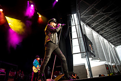 June 19, 2018 - Toronto, Ontario, Canada - American rockers ''Cheap Trick' performed at Budweiser Stage in Toronto, Ontario. Band members: RICK NIELSEN, TOM PETERSSON, ROBIN ZANDER, DAXX NIELSEN (Credit Image: © Igor Vidyashev via ZUMA Wire)