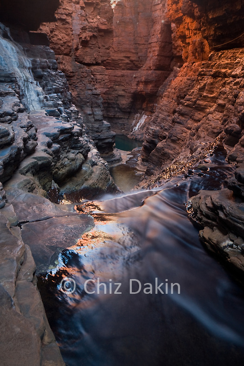 Regan's Pool, Hancock Gorge, Karijini National Park, Pilbara, W Australia