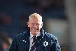 Falkirk's manager Gary Holt..Raith Rovers 0 v 0 Falkirk, 27/4/2013..© Michael Schofield.