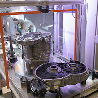 E-Engine production starts at the Audi factory in Gyor (about 120 km West of Budapest), Hungary on July 24, 2018. ATTILA VOLGYI