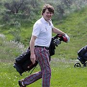 NLD/Zandvoort/20120521 - Donmasters 2012 golftoernooi, Beau van Erven Dorens aan het golfen