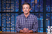 """August 17, 2021 - USA: NBC's """"Late Night With Seth Meyers"""" - Episode: 1180A"""