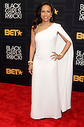 April 1, 2016- Newark, NJ: United States- Social Activist Valeisha Butterfield attends the 2016 Black Girls Rock Red Carpet Arrivals held at NJPAC on April 1, 2016 in Newark, New Jersey. Black Girls Rock! is an annual award show, founded by DJ Beverly Bond, that honors and promotes women of color in different fields involving music, entertainment, medicine, entrepreneurship and visionary aspects.   (Terrence Jennings/terrencejennings.com)
