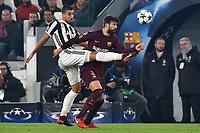 Sami Khedira Juventus, Gerard Pique Barcelona <br /> Torino 22-11-2017 Allianz Stadium Champions League 2017/2018 Group D Juventus - Barcelona  Foto Andrea Staccioli / Insidefoto