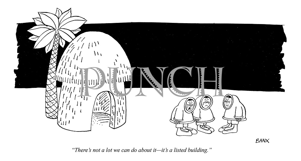 """There's not a lot we can do about it - it's a listed building."""