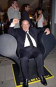 Alberto Vignatelli, Art Review/ Chaplins Milan event, 118-120 Brompton Rd. London. 7 May 2003. © Copyright Photograph by Dafydd Jones 66 Stockwell Park Rd. London SW9 0DA Tel 020 7733 0108 www.dafjones.com