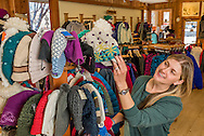 Shopping at Summit Canyon Mountaineering in Glenwood Springs, Colorado.