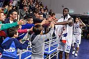 Josh Carter<br /> Dinamo Banco di Sardegna Sassari - Consultinvest Victoria Libertas Pesaro<br /> Lega Basket Seire A 2016/2017<br /> Sassari 30/10/2016<br /> Foto Ciamillo-Castoria