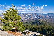 The Kern Drainage from Dome Rock, Sequoia National Forest, Sierra Nevada Mountains, California